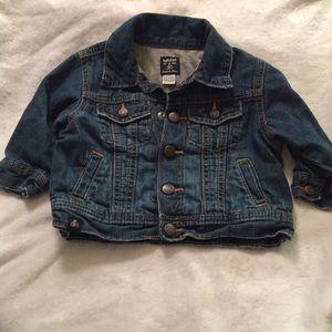 Infant Boys Baby Gap Denim Jacket Size 6-9 Months.